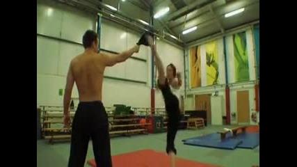 Тренировка с Chloe Bruce