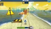 Sonic dash - gameplay