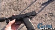 Стрелба с H&k Usp .45 със заглушител
