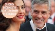 George Clooney pens letter to student protesters
