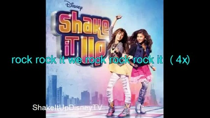 Disney Channel - Shake It Up Our Generation Lyrics Full Song!