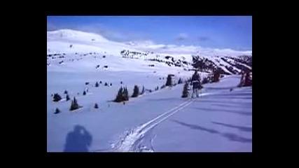 Ски НЛО :) (музика Amon Tobin)