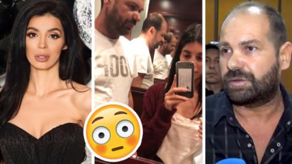 MEGZ със сладко видео! Гушка се с приятеля си в асансьор, какво си казват?