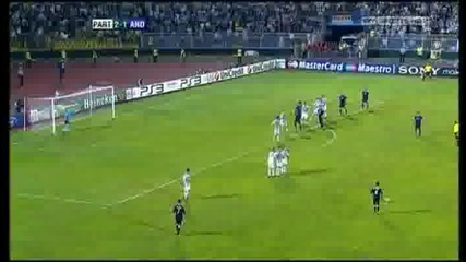 Uefa Champions League Playoffs - Partizan 2 - 2 Anderlecht