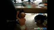 Бебешки фитнес / Бебе се набира/