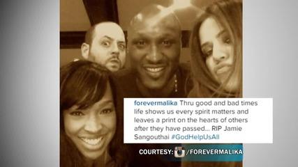 Khloe Kardashian Reacts to Jamie Sangouthai's Death