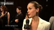 Fashiontv Rosario Dawson Backstage @ Tommy Hilfiger Show Fall 2011 Nyfw