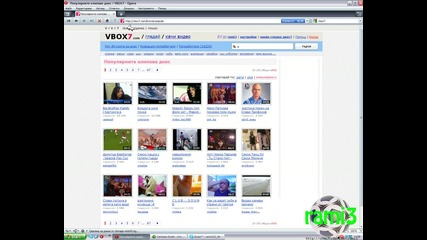 Vbox7 със favicon