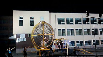 Мотор шоу Полицейска акдемия - Глобус на смъртта