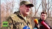 """Ukraine: Demilitarisation of Shirokino """"not difficult"""" - Lentsov"""