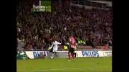 Berbatov Goal - Spurs V Psv Eindhoven