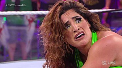 Mandy Rose gets NXT Women's Title assist from Dakota Kai's attack on Raquel Gonzalez: WWE NXT, Oct. 26, 2021