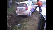 Crash Al 7в° Rally Di Azzano 2008