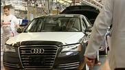 Инспекция на Audi A8 quattro . (немско качество и прецизност )