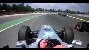 Michael Schumacher Catalunya 2011 Onboard / Михаел Шумахер Каталуня Онборд 2011