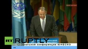 France: Lavrov addresses the 38th UNESCO General Conference