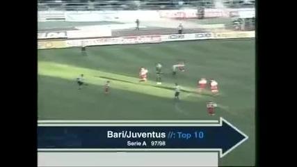 Най - добрите 10 гола на Зинедин Зидан