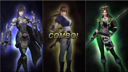 Musou Orochi 2 Ultimate (warriors Orochi 3 Ultimate) - Team Combos Compilation (new Characters)
