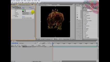 After Effects Monday tutorial - Смяна на цвят (bg audio)