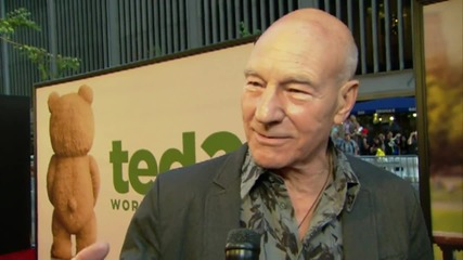 The 'Ted 2' Premiere: Patrick Stewart