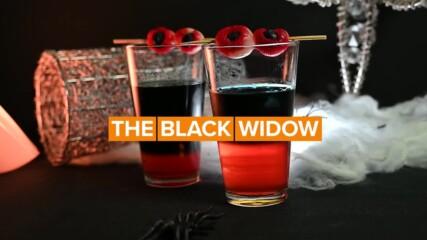 Зловещ коктейл за Хелоуин: Черната вдовица!