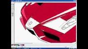 Как Се Рисува Ferrari Enzo На Paint