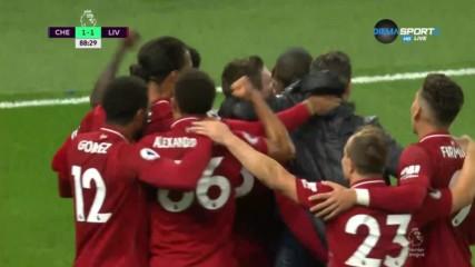 Ливърпул изравни на Челси с фамозен гол