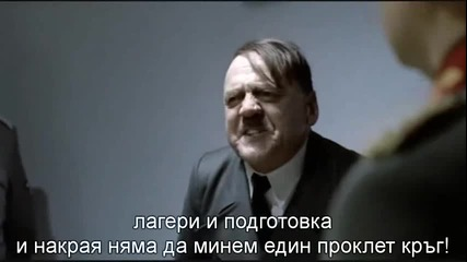 Hitler' s reaction after Ludogorets loss