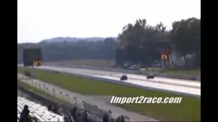 Evo X Gsr vs Corvette Z06