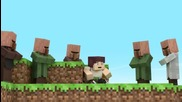 'villagers in a nutshell' (minecraft Animation)
