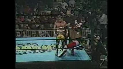 Е C W Anarchy Rulz 1999 - Lance Storm vs Jerry Lynn