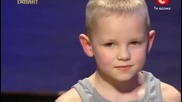 Amazing performance in Ukraine's got talent - Youtube