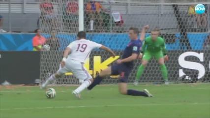 Испания загуби с 1:5 от Холандия (13.06.2014)