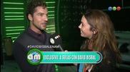 David Bisbal Entrevista / Tu Cara Me Suena Argentina 2014