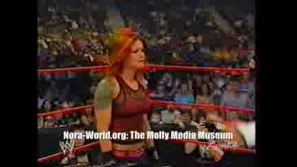 Wwe Molly & Eric Bischoff Vs Lita & Matt Hardy