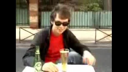 Опасна комбинация - ментос + бира
