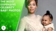 Най-скъпите снимки на бебе в Холивуд