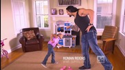 Roman Reigns 'take Time to Be a Dad Today'