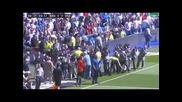Фотографите прекъснаха мача на Бернабеу след закъснялата поява на Моуриньо