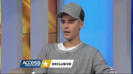 Аз не знам дали съм над него, все още - Justin Bieber говори за Selena Gomez