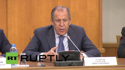 Russia: Lavrov warns against hijacking 'colour revolutions' for political gain