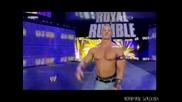 John Cena елиминира всички от The New Nexus / Royal Rumble 2011