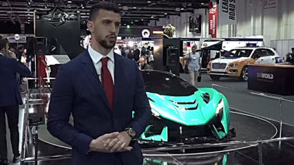 Zedro 'Notorious' and Ajlani 'Drakuma' concepts on display at Dubai International Motor Show