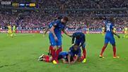 Франция 2 - 1 Румъния ( 10/06/2016 ) ( Евро 2016 )