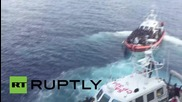 Italy: Coastguard taking 517 people found in Med to Lampedusa
