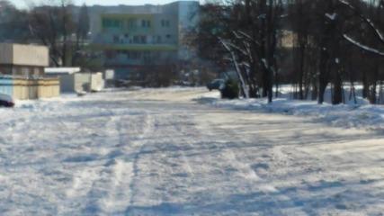 Малко опити из снега с Ford Escort '84