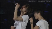 Бг превод! T V X Q / D B S K- Stand By U ( The Secret Code Live at Tokyo Dome )