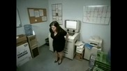 Дебел Задник срещу принтер