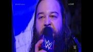 Bray Wyatt се появи с ковчега на Гробаря и го предизвика за Wrestlemania 31 - Wwe Fastlane 2015