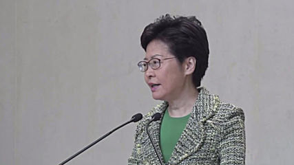 Hong Kong: Lam voices support for HK police while not condoning 'irregularities' of violence